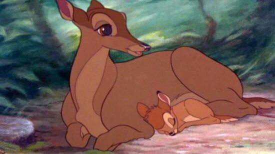 Bambi with Mom from 1942