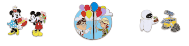 disney couples trading pins