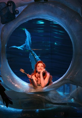 Ariel (Sierra Boggess) with her dinglehopper