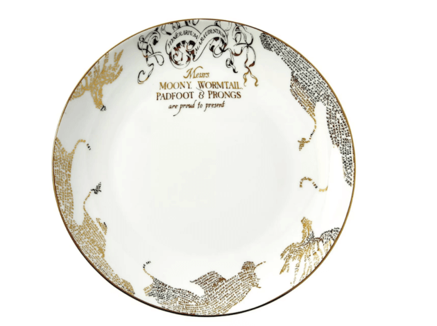padfoot and prongs harry potter plates from target