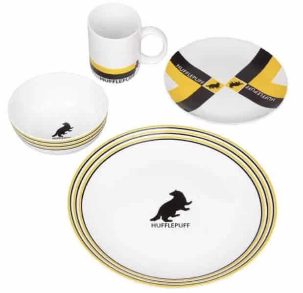 hufflepuff plates for hogwarts