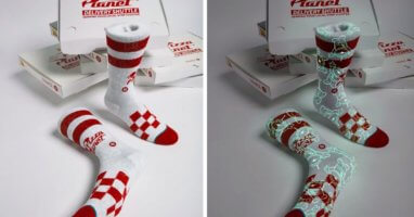 Pizza Planet Socks