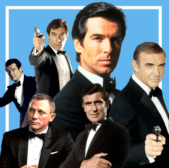 Every James Bond From Sean Connery to Daniel Craig