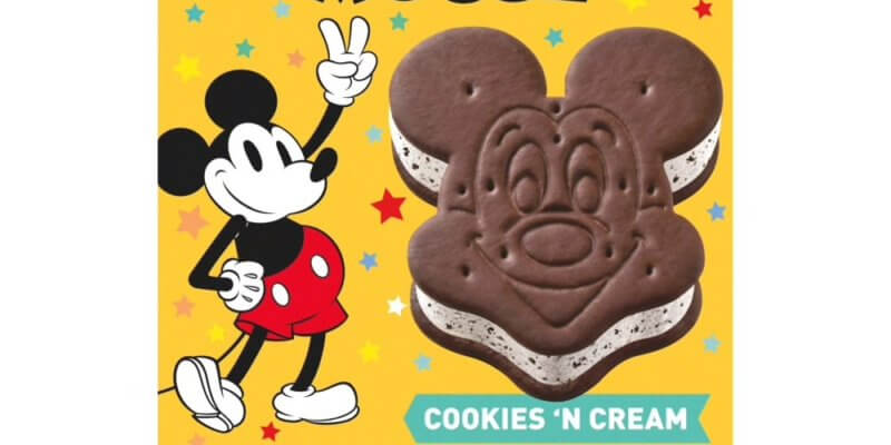 mickey ice cream sandwiches grocery stores