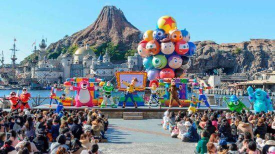 Pixar Playtime stage show at Tokyo Disney Resort