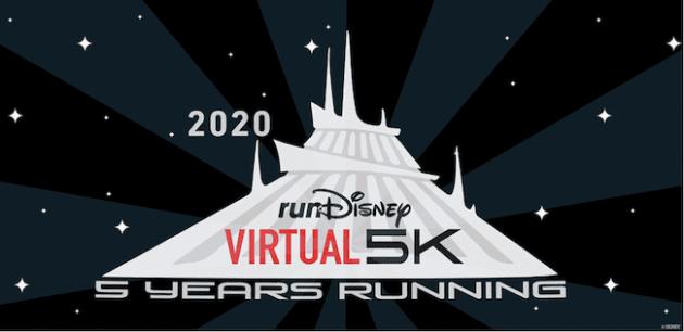 runDisney Virtual 5K series - space mountain