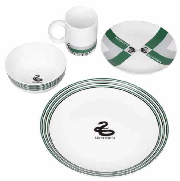 slytherin plates for hogwarts