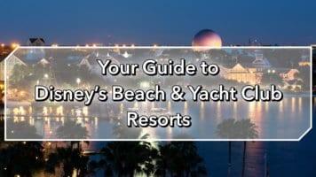 Disney's Beach and Yacht Club