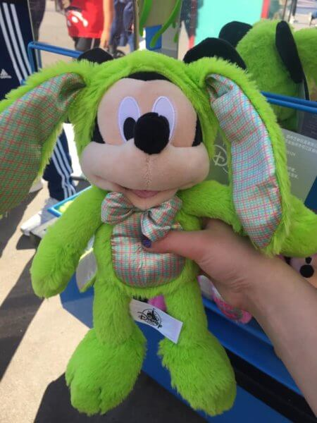 Mickey Mouse Easter Plush