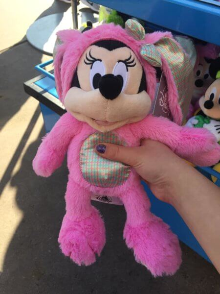 Minnie Mouse Easter Plush