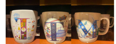 ABCDisney Mugs Disneyland