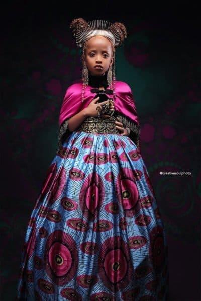 Anna afroart black princess