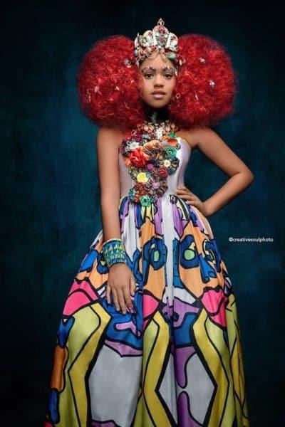 Ariel Black Princess AfroArt