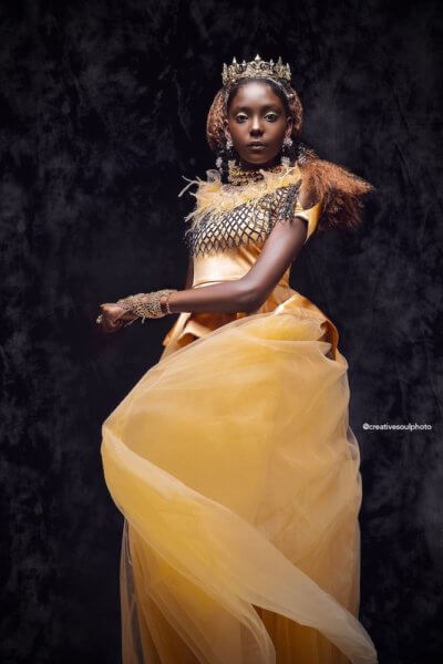 Belle afroart black princess