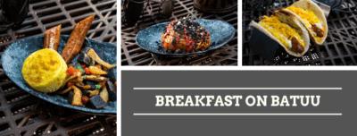 Galaxy's Edge breakfast options