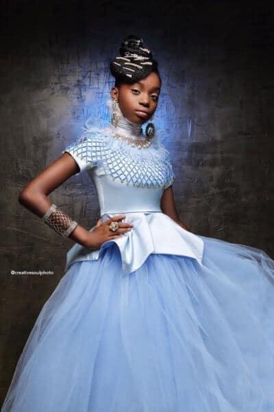Cinderella afroart black princess