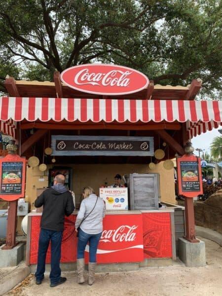 Coca-Cola Market, Seven Seas Food Festival