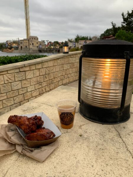 Tennessee Whiskey BBQ Chicken Wings with Apple Sangria