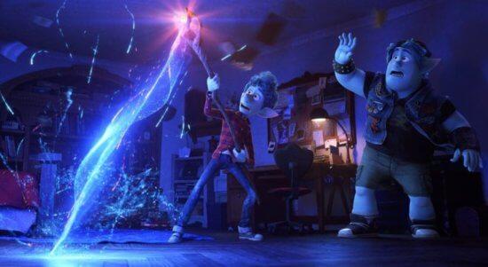 onward pixar fantasy movie