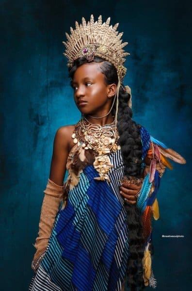 Pocahontas Black Princess