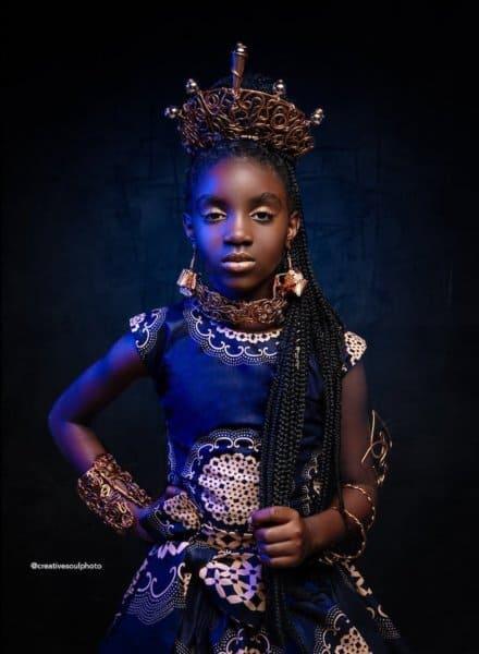 Princess Obsidian- Shuri or Mulan