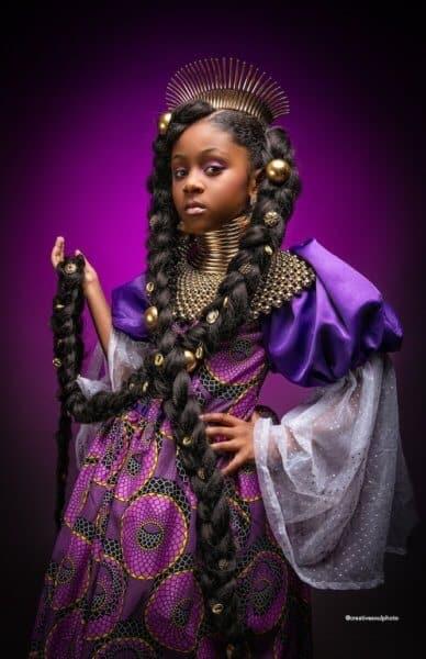 Rapunzel Black Princess