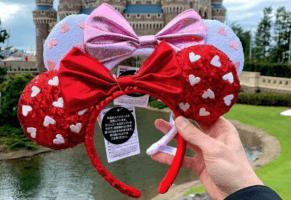 Valentine's Day Minnie Ears