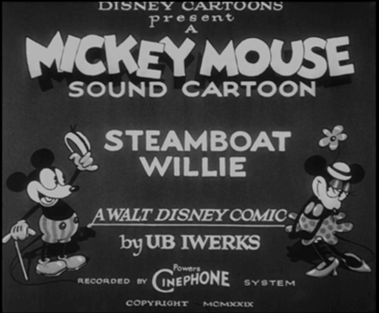Mickey and Minnie, Steamboat Willie