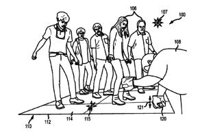 New Disney Patent ground shaking tech