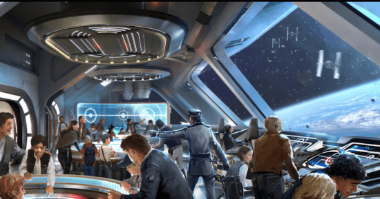 Defend the bridge! Star Wars: Galactic Starcruiser
