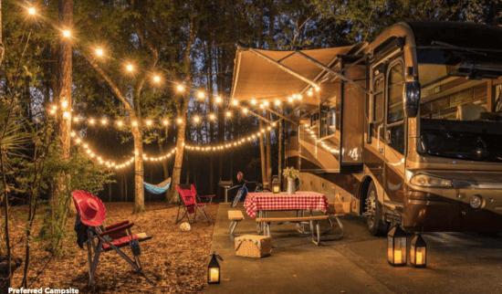 Disney's Fort Wilderness Resort Preferred Campsite