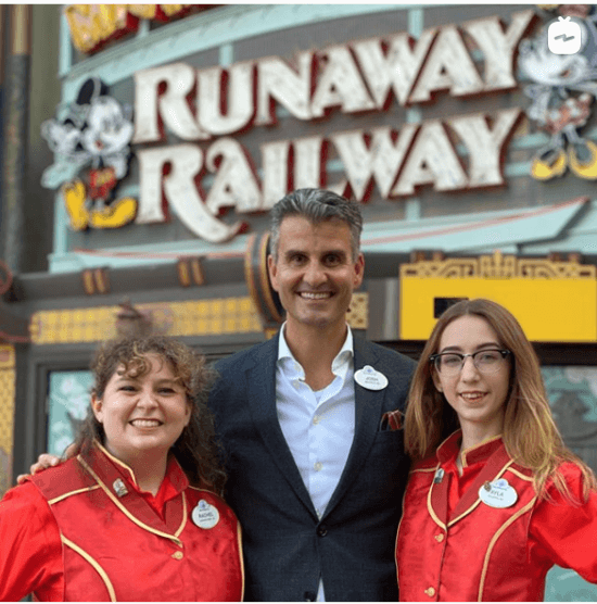 Mickey and Minnie's Runaway Railway Cast Member Preview Announcement
