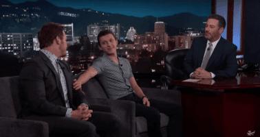Chris Pratt Tom Holland Jimmy Kimmel Live