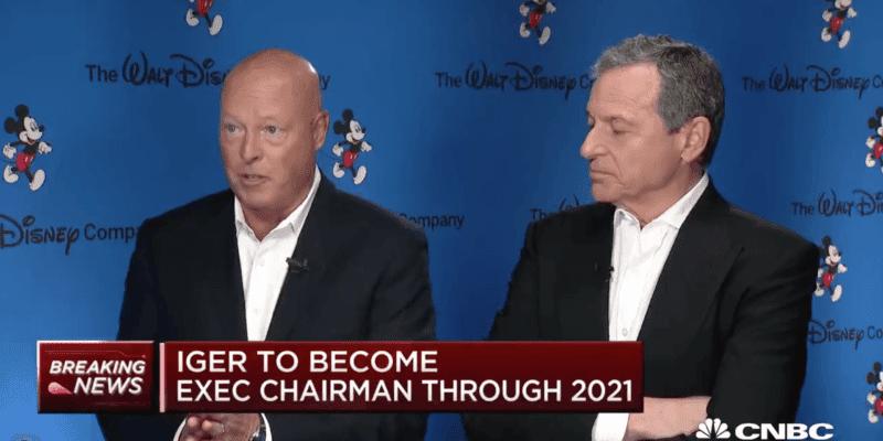 Bob Chapek Bob Iger The Walt Disney Company