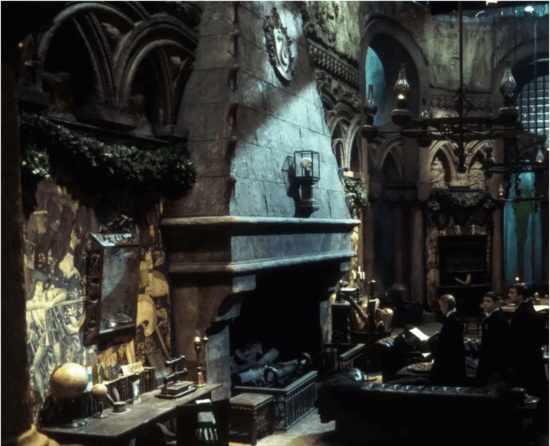 Slytherin Common Room, Harry Potter and the Chamber of Secrets