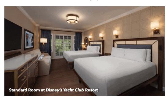Disney's Yacht Club Room