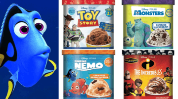 Pixar Ice Cream Flavors