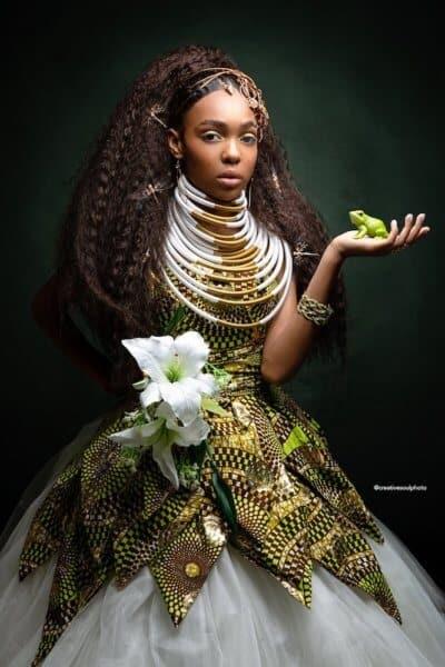 Tiana Disney Princess African Art