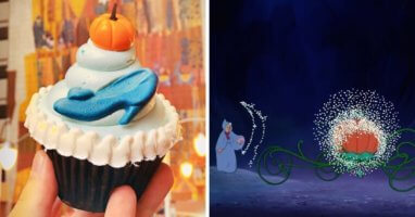 Cinderella Pumpkin Cupcake