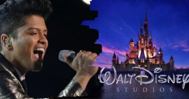Bruno Mars Disney