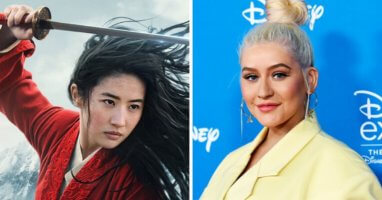 christina aguilera Mulan