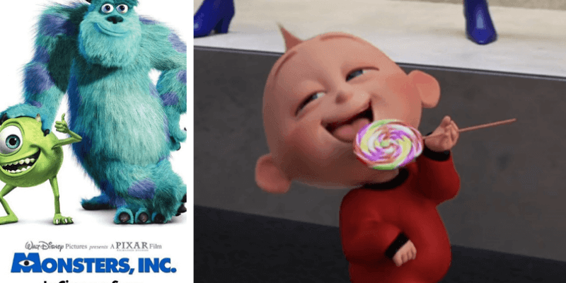 Jack-Jack Monsters Inc. Pixar Theory