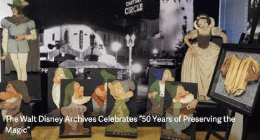 D23 archives items 2020 exhibit
