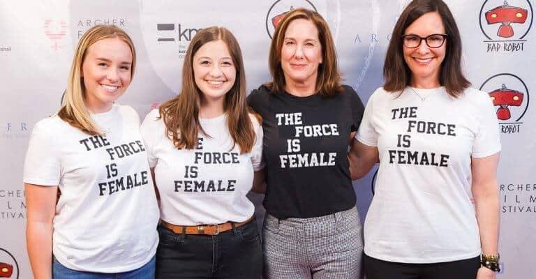 kathleen kennedy Star wars female director