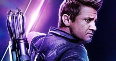Jermey Renner as Clint Barton AKA Hawkeye in Avengers Endgame