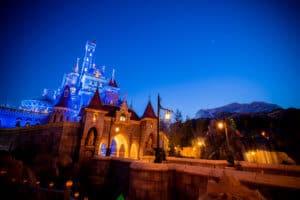 beauty and the beast castle tokyo disneyland