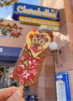valentines day ice cream bar at disneyland 2020