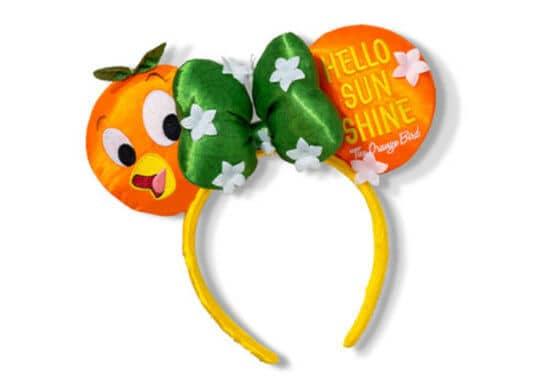 Orange Bird Minnie Mouse Ears