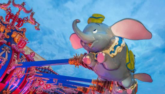 Dumbo the Flying Elephant at Walt Disney World