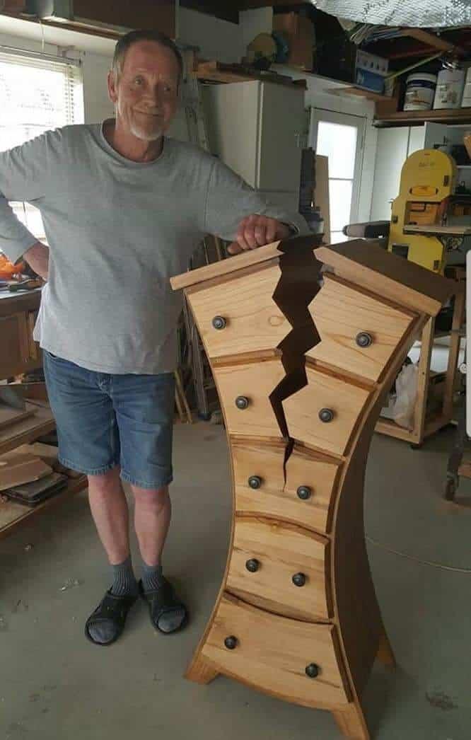 henk from new zealand, carpenter of the broken dresser